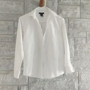 White collared shirt